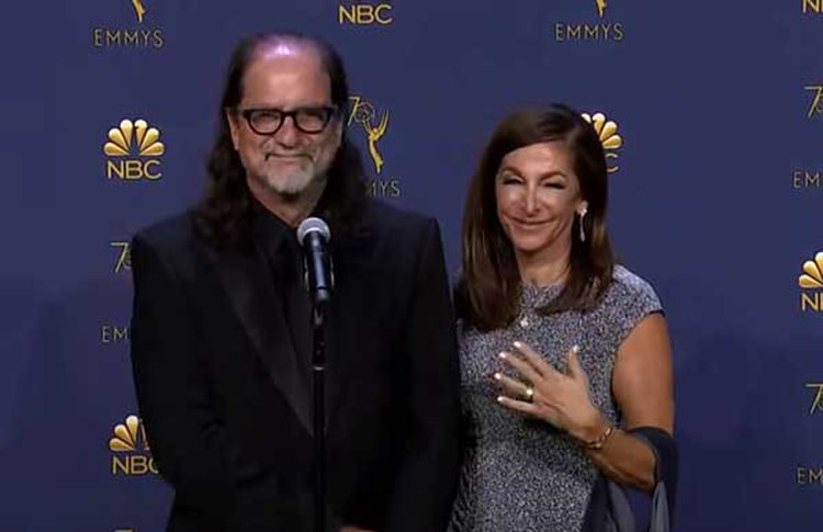 Emmy Winner Proposes During Live Broadcast With a Ring 'More Valuable Than The Hope Diamond'